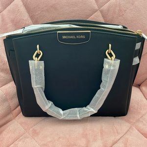 Michael Kors Rochelle Large Satchel Shoulder Bag